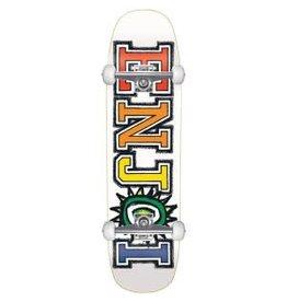 Enjoi Enjoi What's The Deal Complete Cruiser Skateboard White 31.0