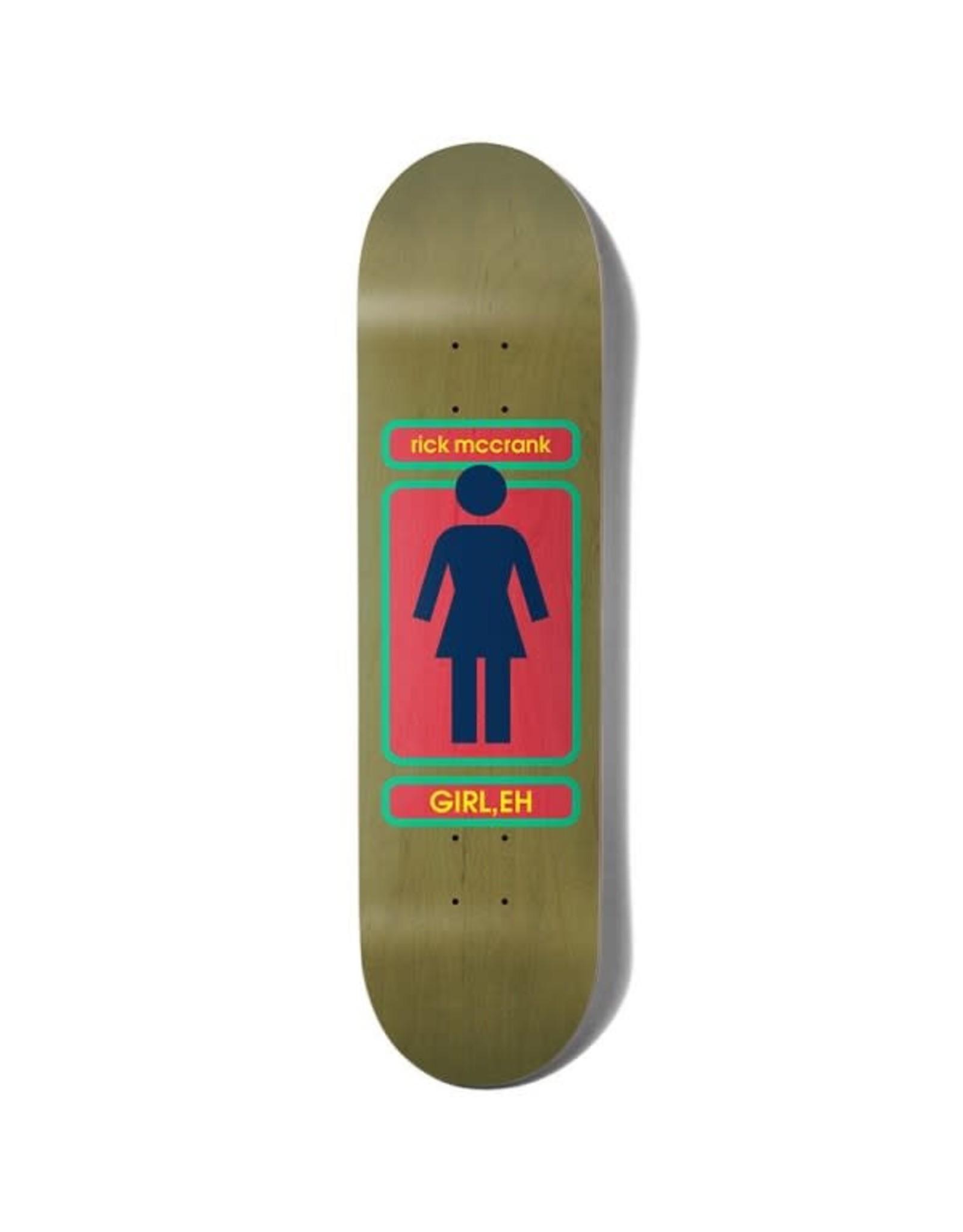 Girl Girl 8.375 Mccrank 93 Til Skateboard Deck