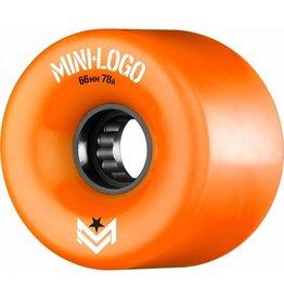 Mini Logo Mini Logo A-Cut A.W.O.L. Wheel Orange 78A 66mm