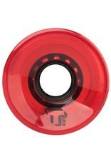 Tada Tada Single T Cruiser Wheel Red Transparent 65mm