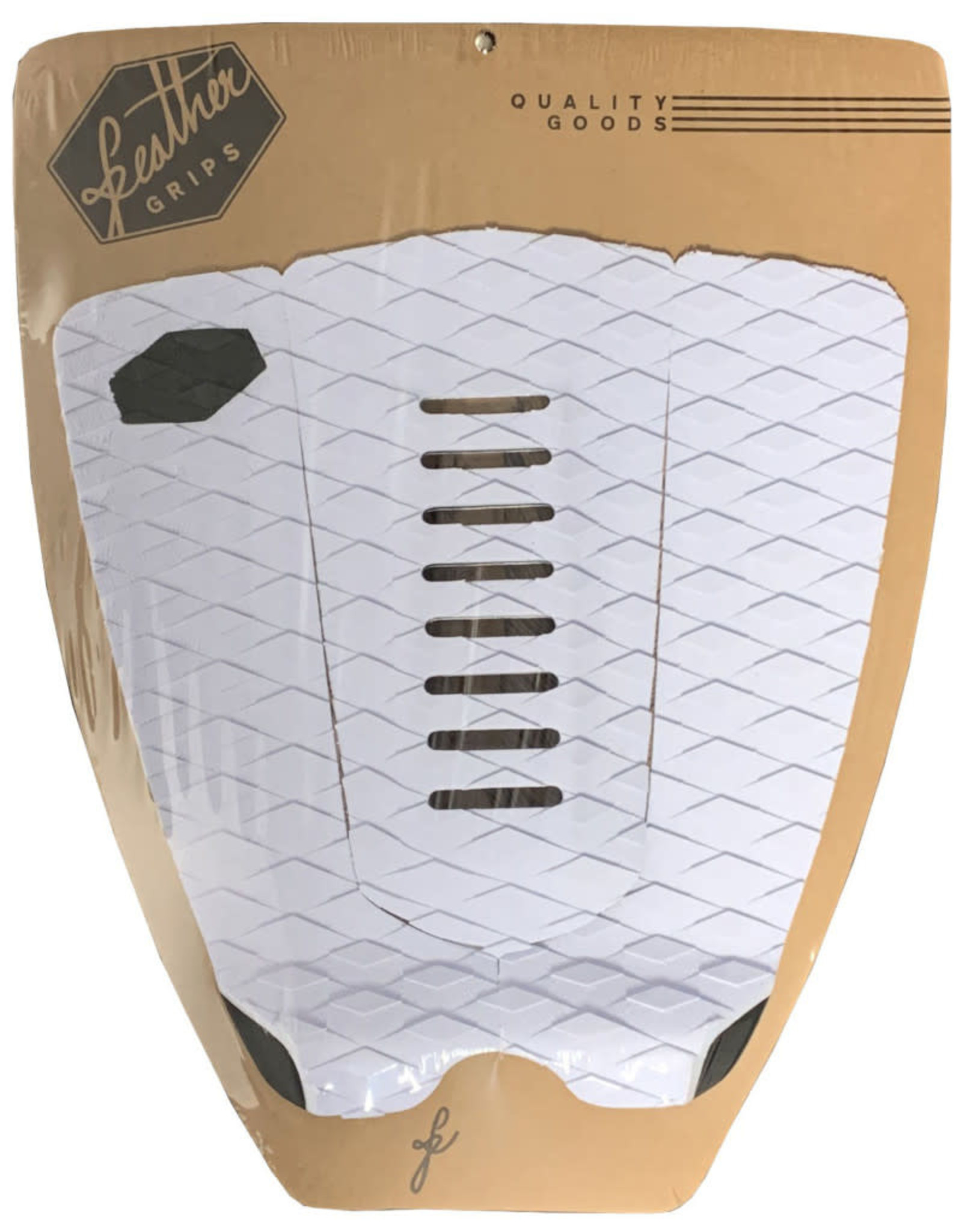 Feather Fins Feather Fins Traction Pad 3P White