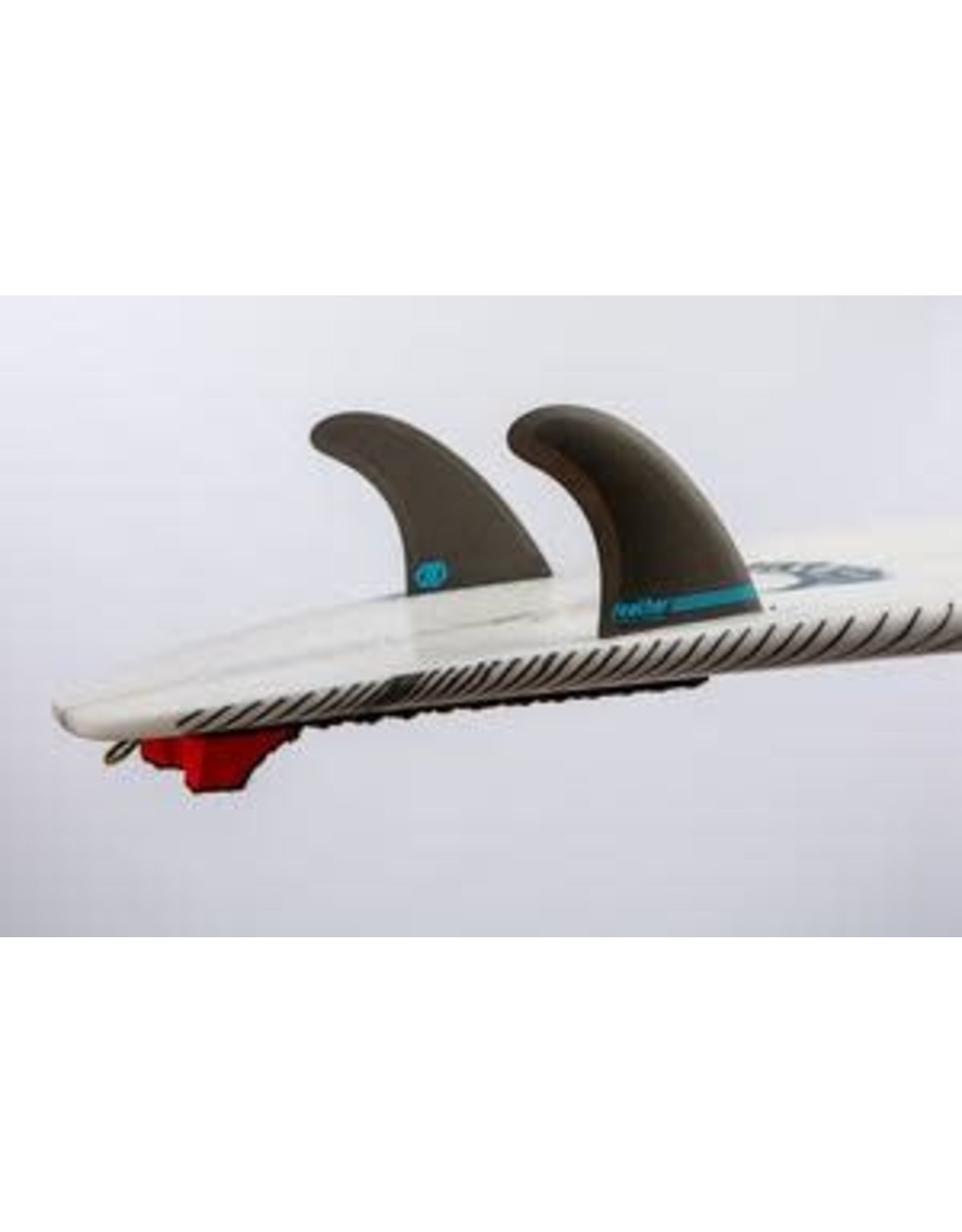 Feather Fins Feather Fins Performance Twin FCS II Click Tab Blue Large
