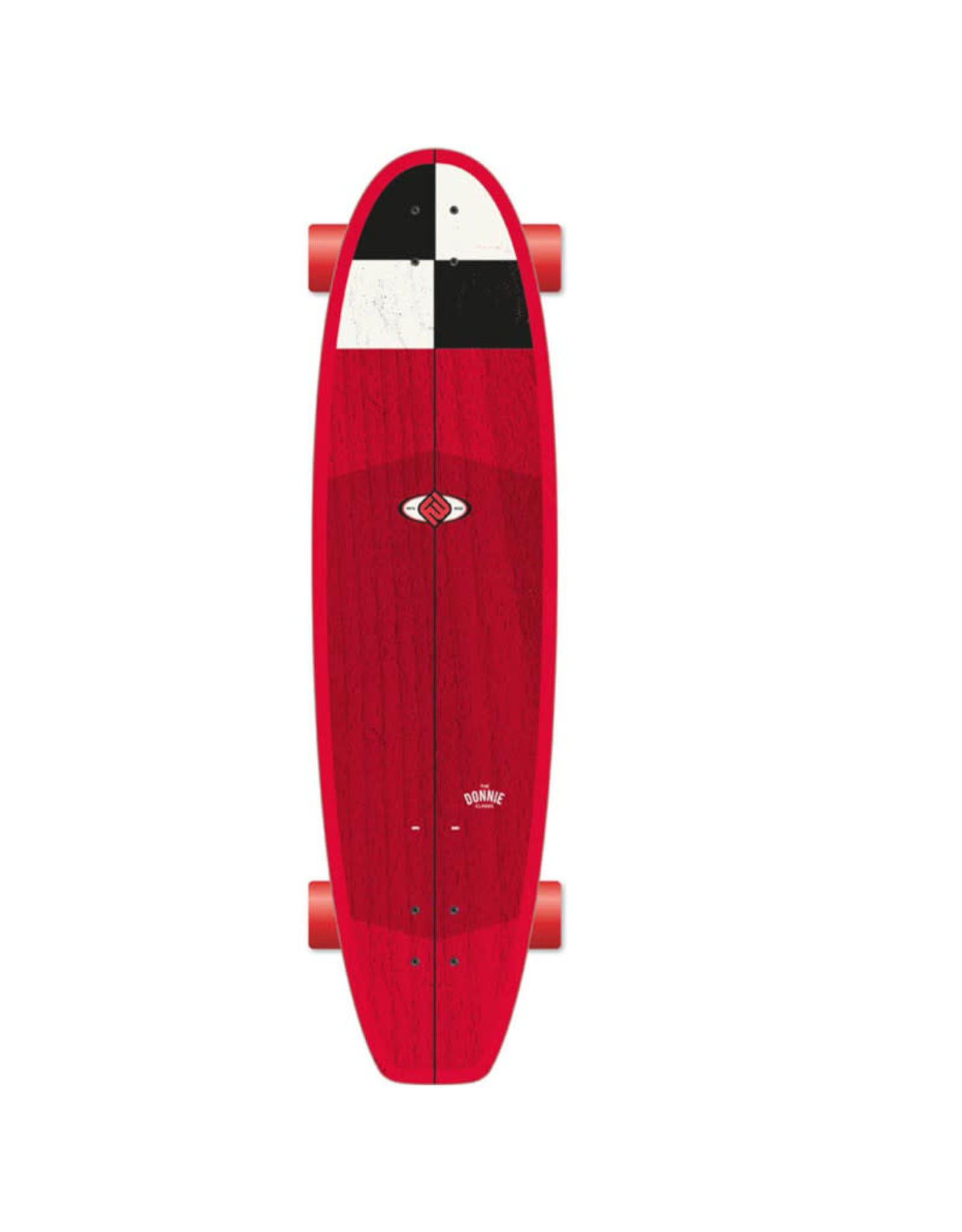 Flying Wheels Flying Wheels Surf Skateboard 38 Donnie Capitol Surf Truck