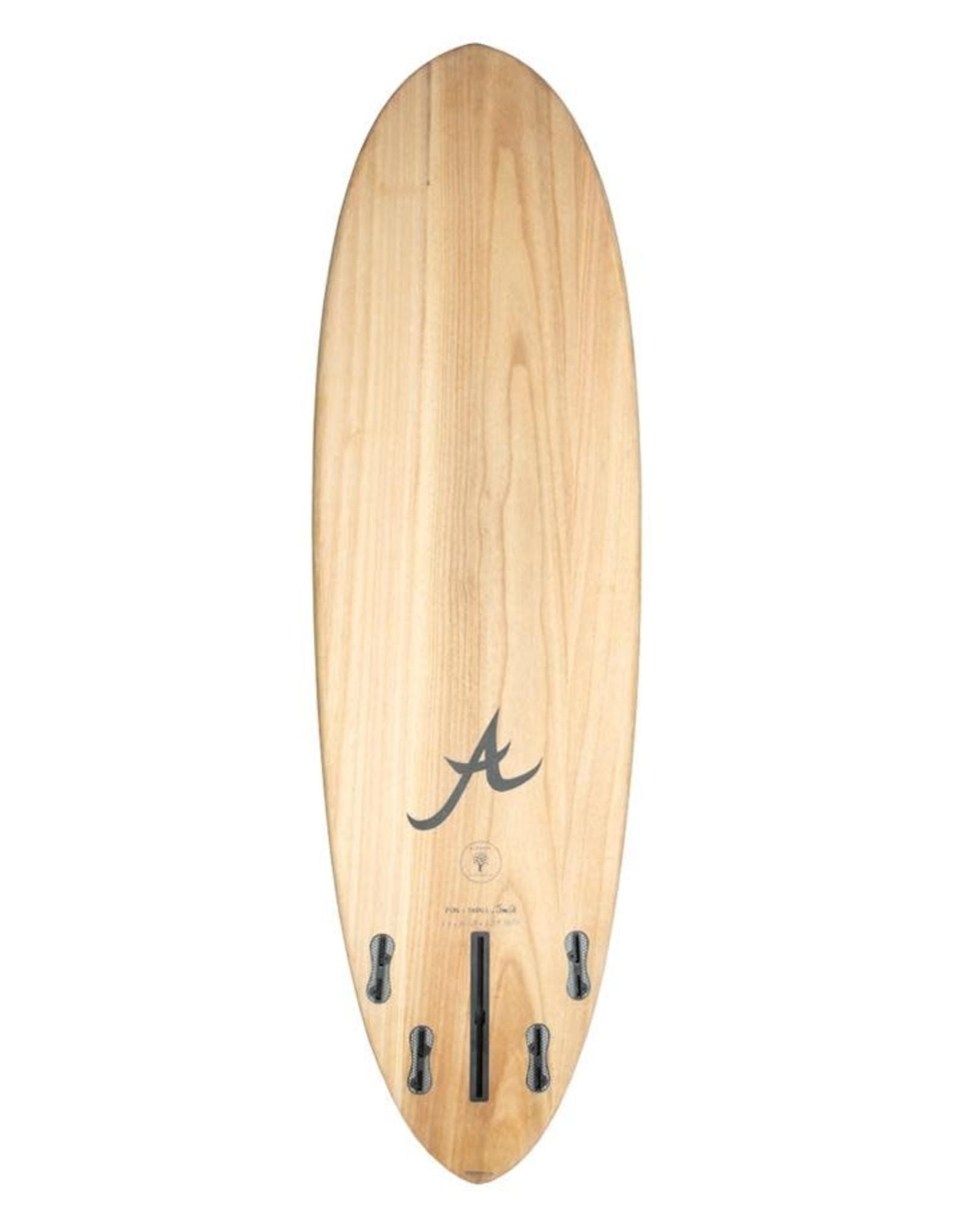 "Aloha Aloha 6'4"" Eco Skin Wood Fun Division"