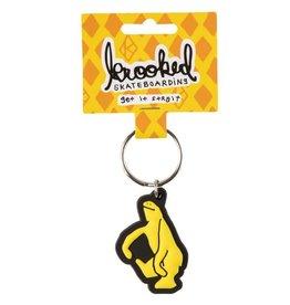 Krooked Krooked Shmoo Keychain Yellow