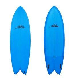 """Aloha Aloha 5'8"""" Keel Twin Fin"""