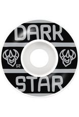 Darkstar Darkstar Block Wheel Silver 52mm