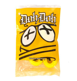 Doh-Doh's Doh-Doh's Bushings 92A Yellow (2 truck set)