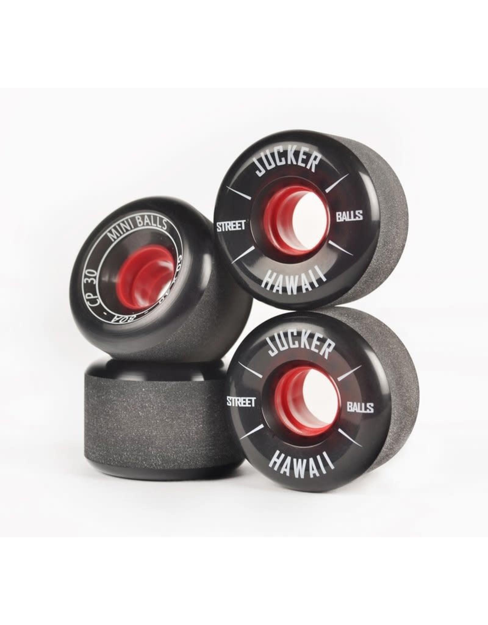 Jucker Hawaii Jucker Hawaii 60mm 80A Skateboard & Mini Cruiser Wheels MINI BALLS CP30 (4er)