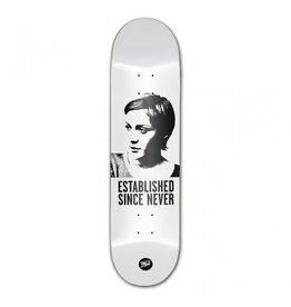 MOB MOB Skateboards Jenny Deck 8.125 white x black