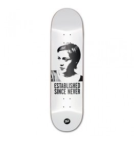 MOB MOB 8.0  Skateboards Jenny Deck white x black