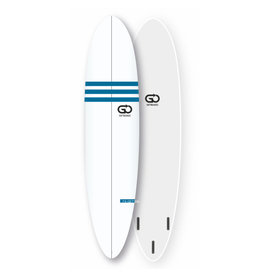 GO GO Softboard 7.6 Soft Top Surfboard Faster