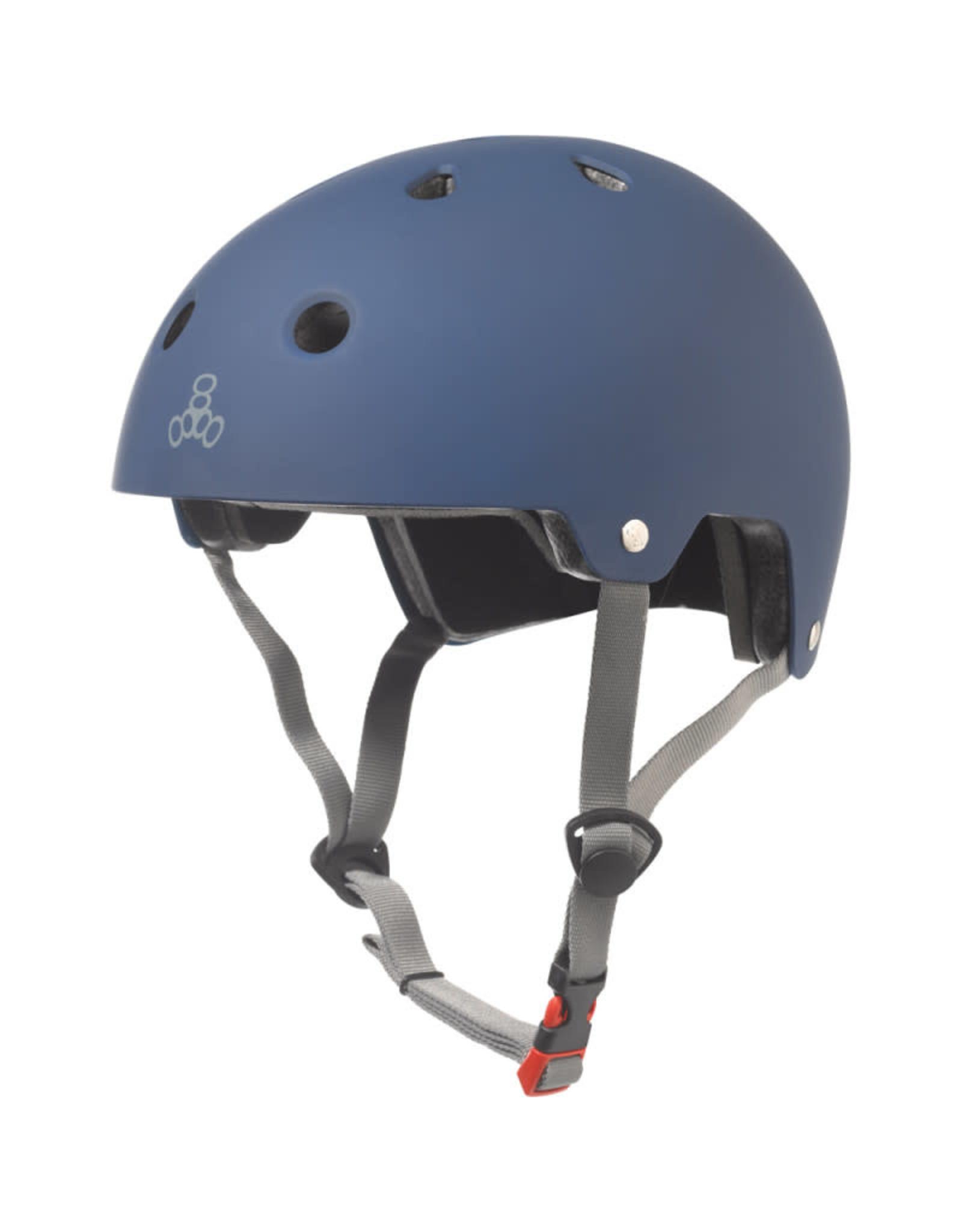 Triple Eight Triple Eight Helmet Blue Rubber