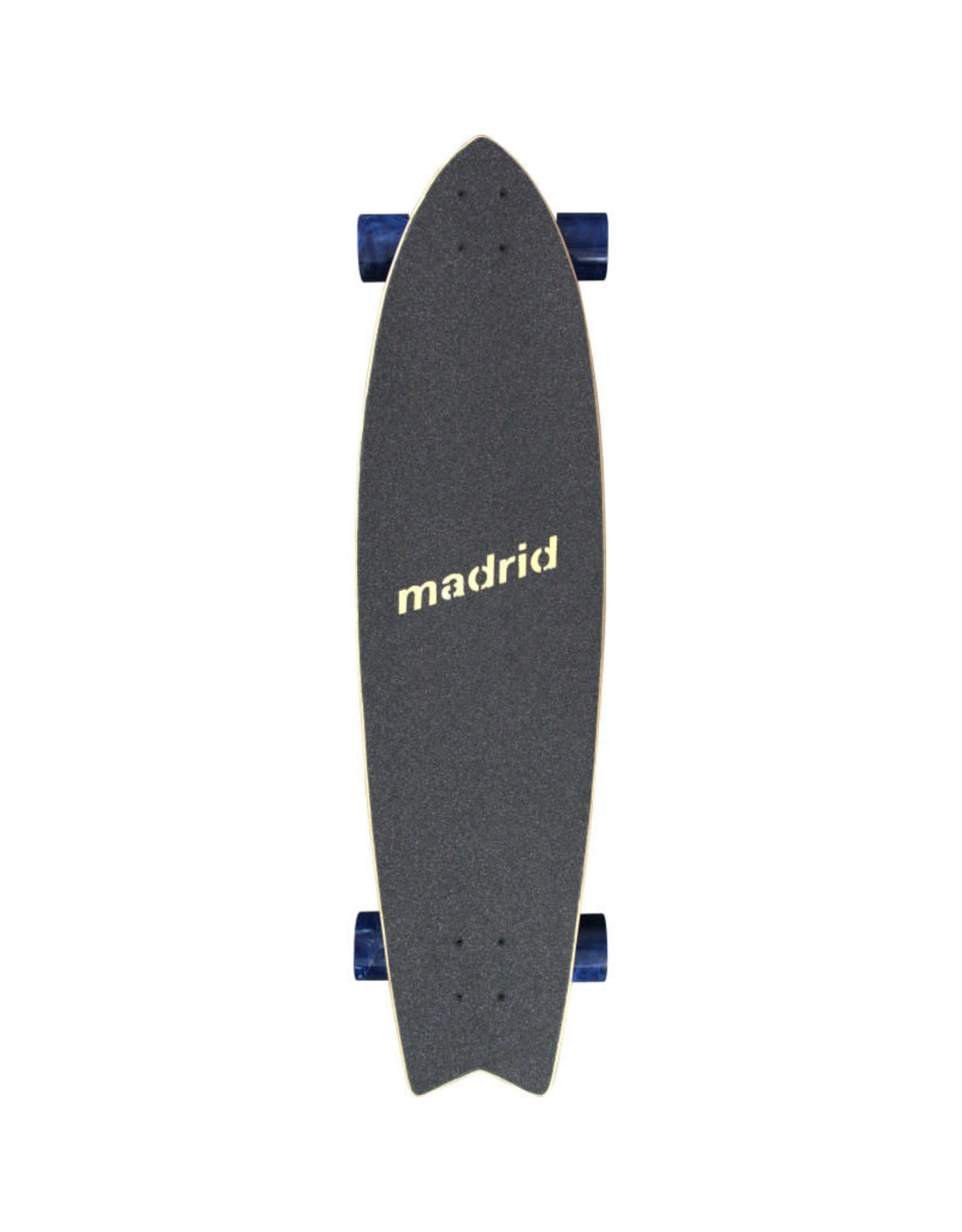"Madrid Madrid Gun 37.75"" Flutter Longboard Complete"