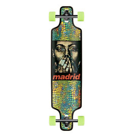 "Madrid Madrid Deception 39"" DTF Longboard Complete"