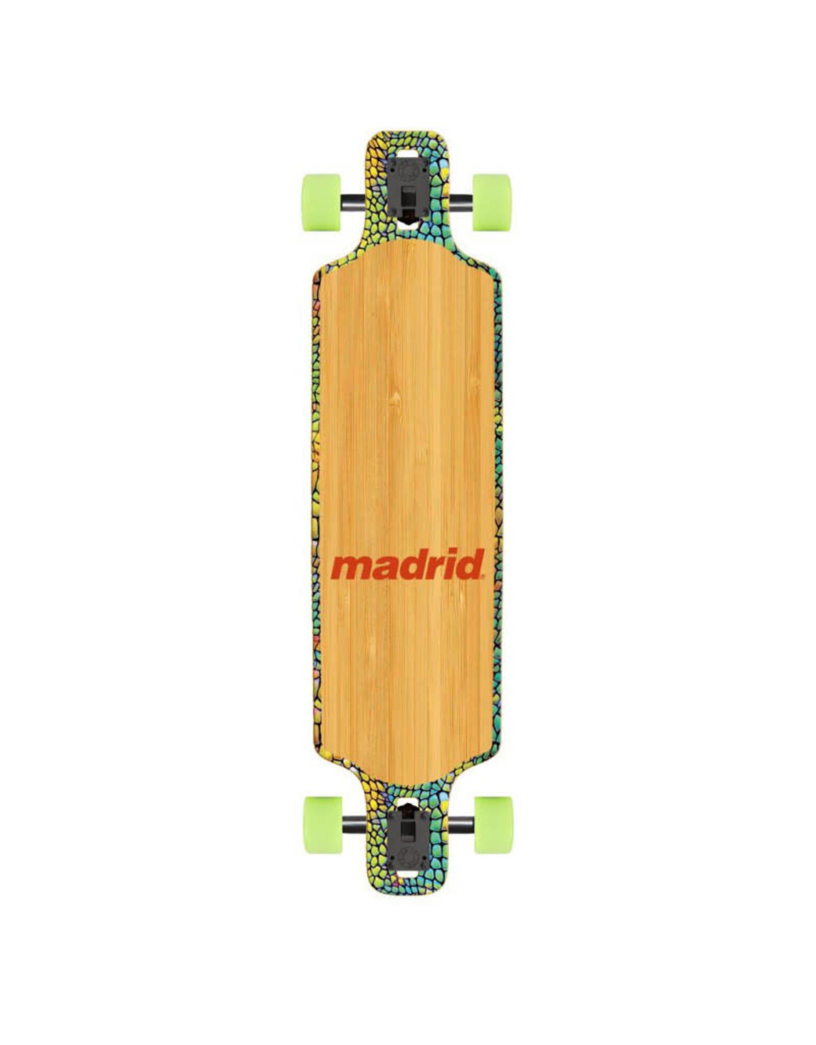 "Madrid Madrid Deception 39"" DTF Longboard Complete"