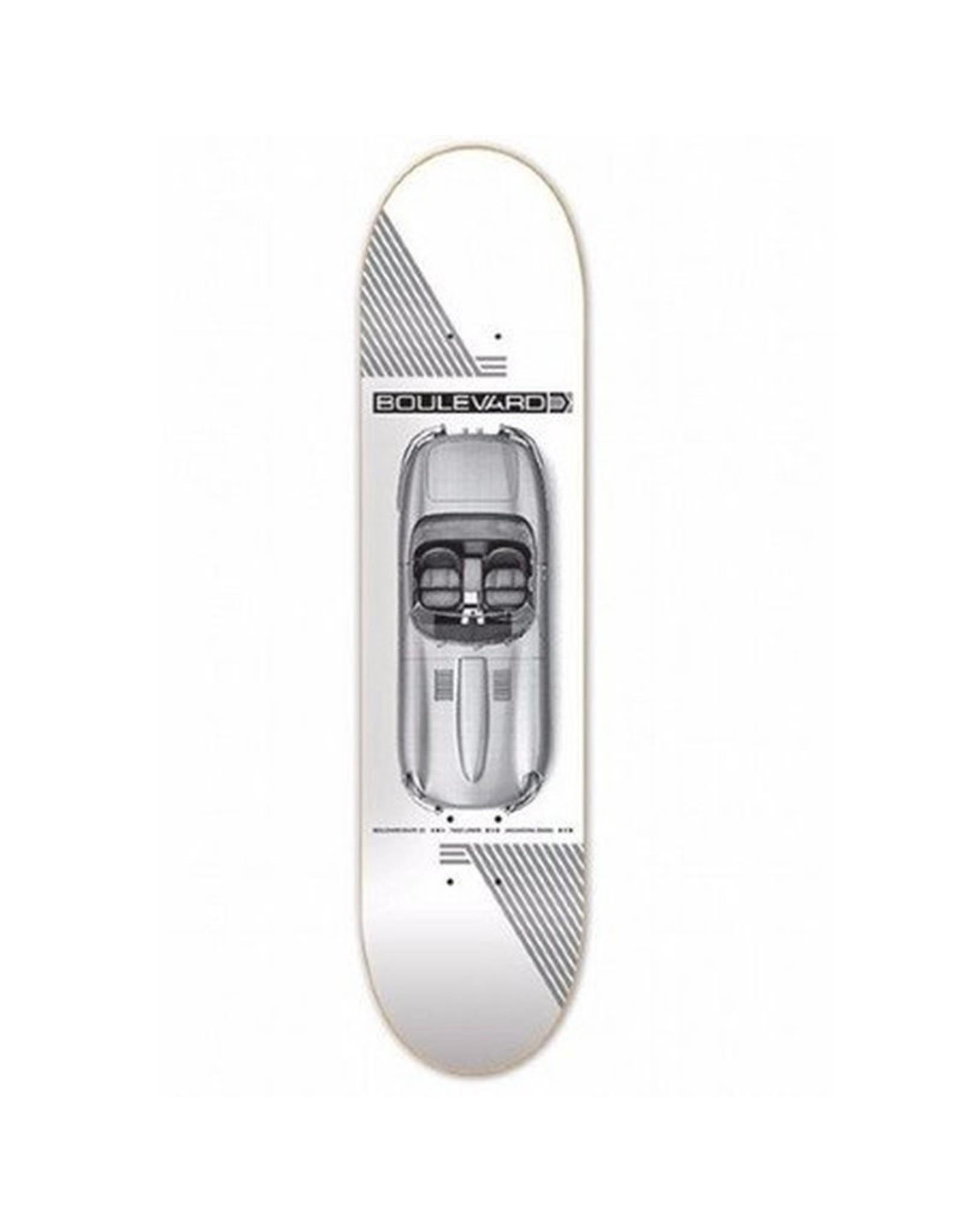 """BLVD BLVD 7.75"""" Carrera TL  Skateboard Deck"""