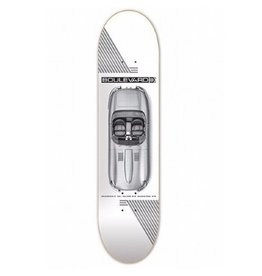 "BLVD BLVD 7.75"" Carrera TL  Skateboard Deck"