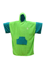 Madness MADNESS Change Robe Poncho Unisize Lime-Teal