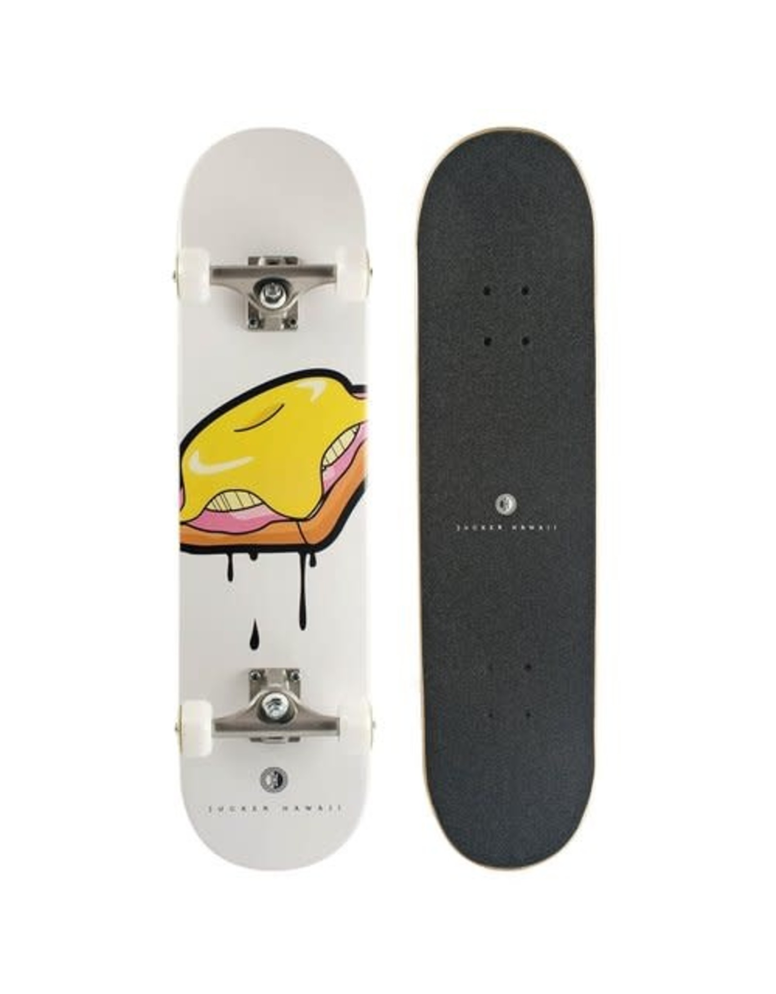 """Jucker Hawaii Jucker Hawaii 8.0"""" Skateboard TOAST Solo Complete"""
