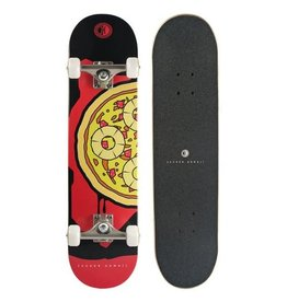 "Jucker Hawaii Jucker Hawaii 7.75"" Skateboard PIZZA Solo Complete"