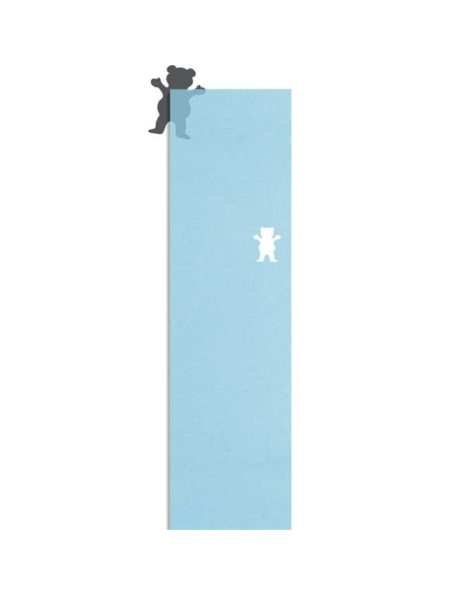 Grizzly Grizzly Clear Cutout Griptape Sheet 9.0 Blue