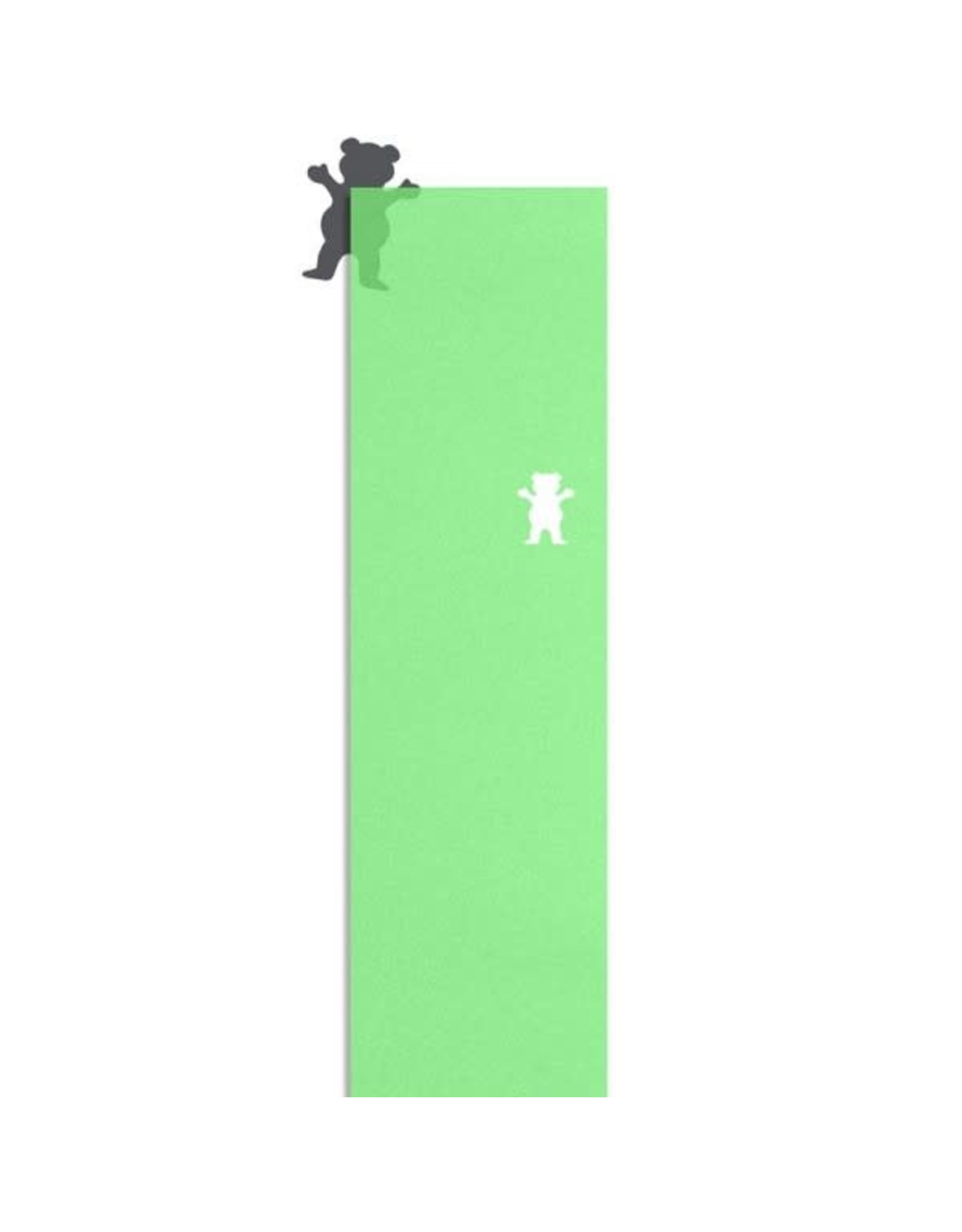 Grizzly Grizzly Clear Cutout Griptape Sheet 9.0 Green