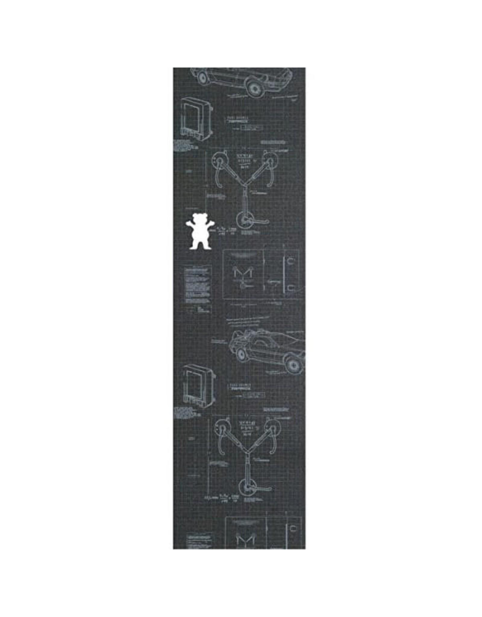 Grizzly Grizzly Jordan Maxham Griptape Sheet 9.0 Black