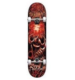 Darkstar Darkstar 8.125 Woods First Push Complete Skateboard Red Tie Dye