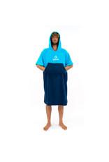 Surflogic Surflogic Poncho Cyan/Navy