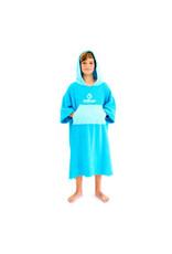 Surflogic Surflogic Poncho Cyan/Turquoise Junior size