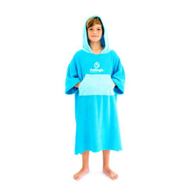 Surflogic Surflogic Poncho Cyan/Turquoise Junior size