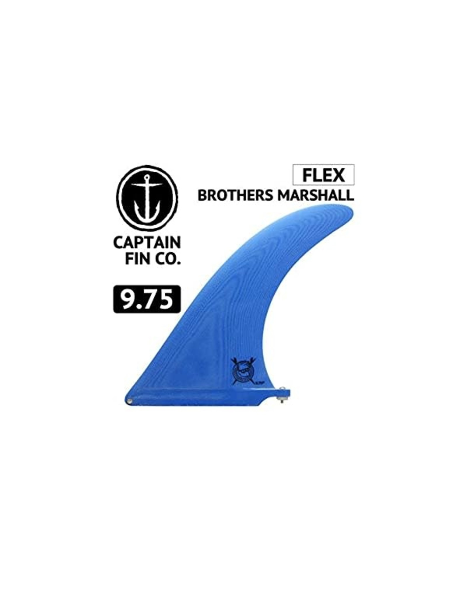 "Captain Fin Catain Fin 9.75"" Brothers Marshall Flex"
