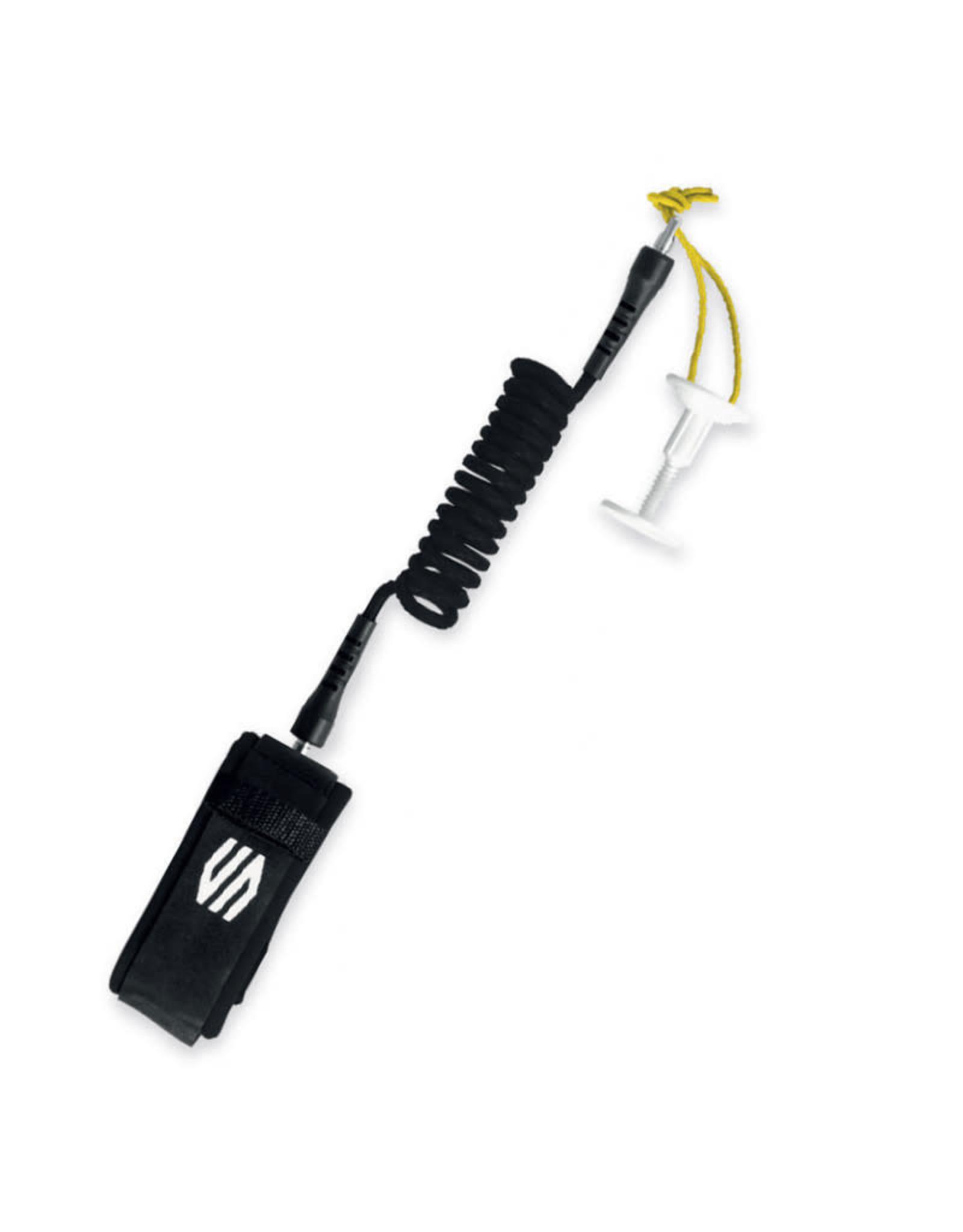 Sniper SNIPER Bodyboard wrist Leash Coiled Deluxe Black