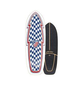 """Carver Carver USA Booster 30.75"""" Surfskate Deck Only"""