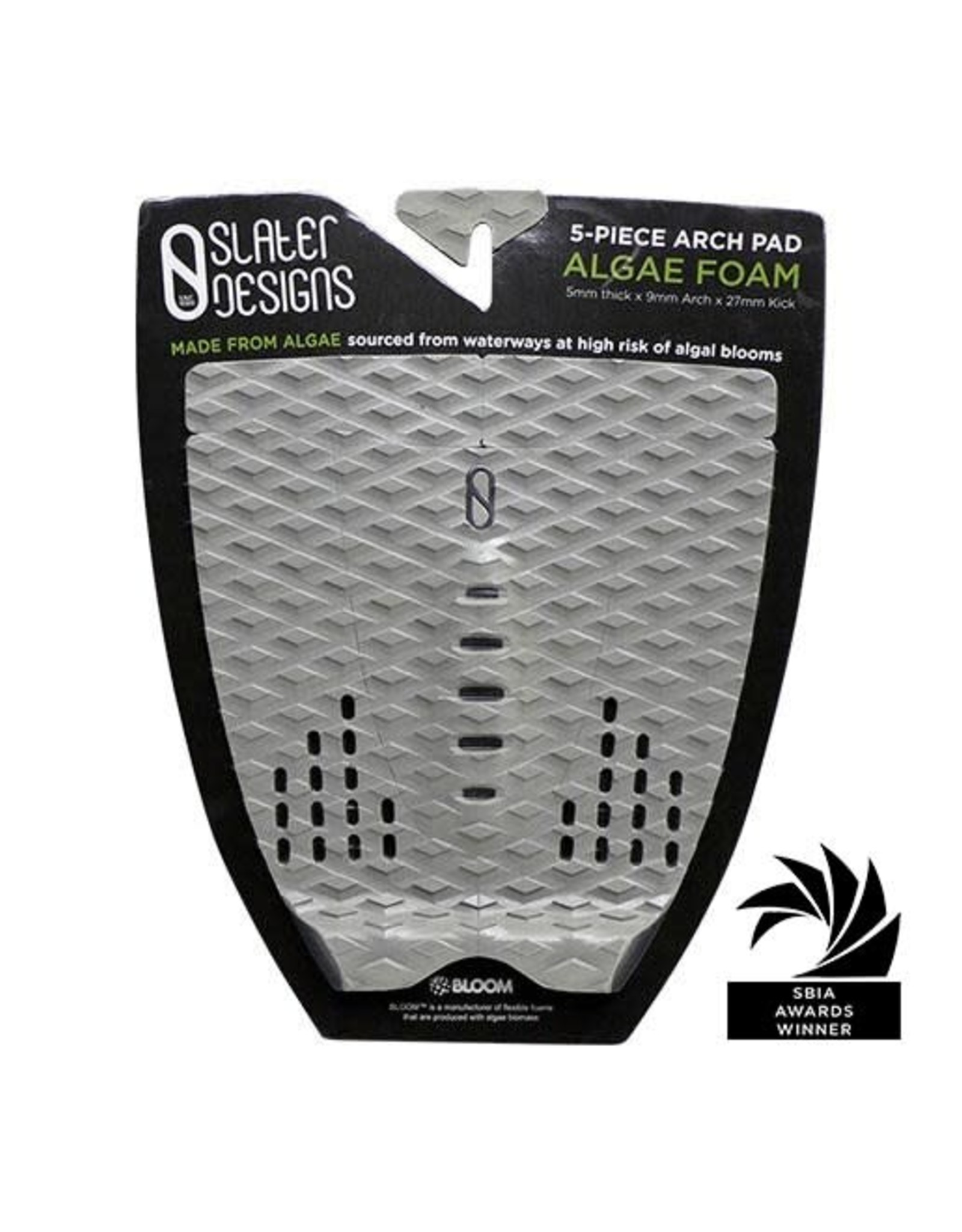 Slater Design Slater Designs 5 Piece Arch Traction Grey