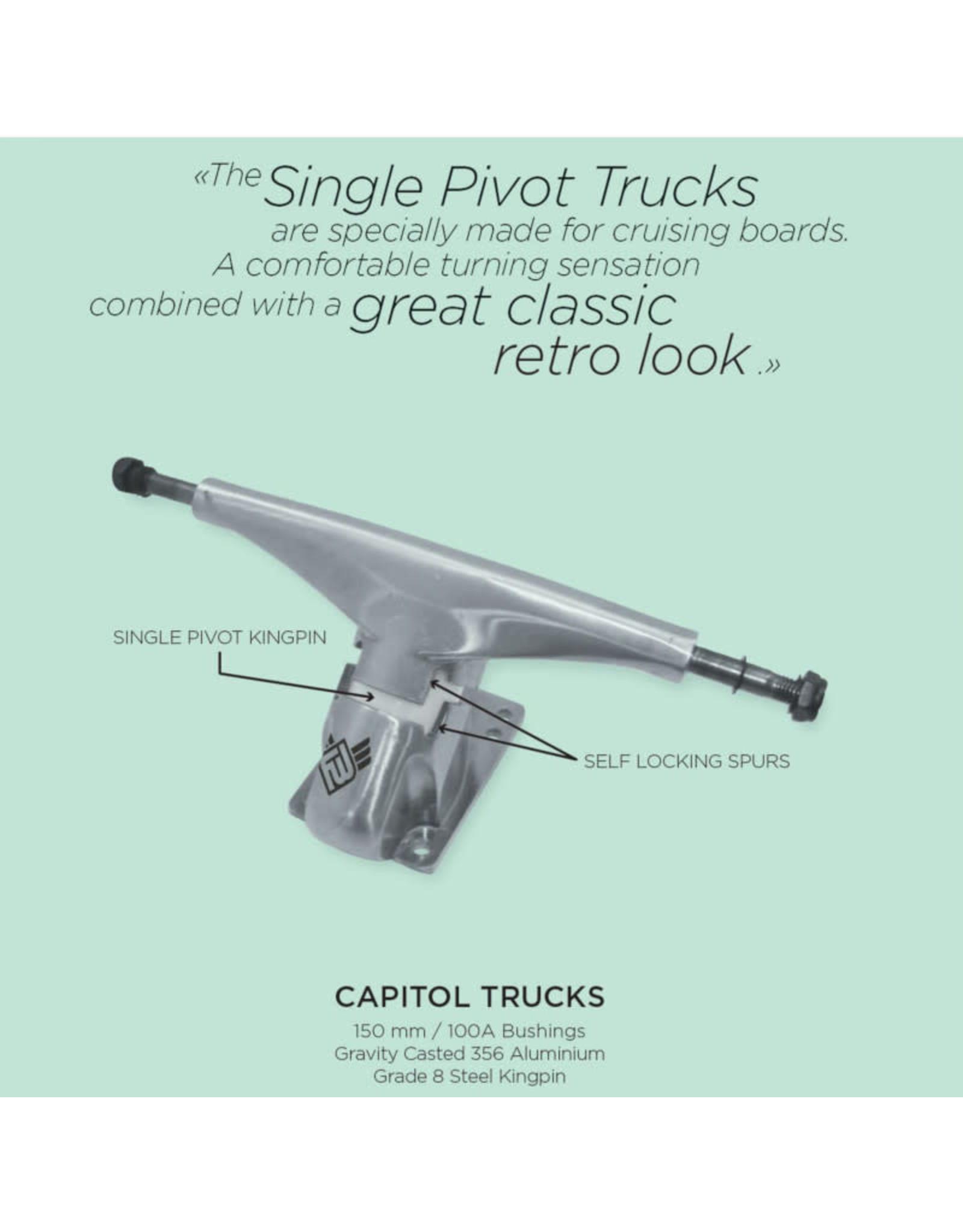 Flying Wheels Flying Wheels Capitol Trucks
