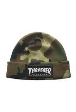 Trasher Thrasher Logo Patch Beanie Camo