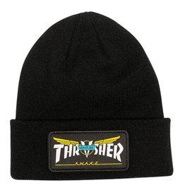 Trasher Thrasher Venture Collab  Beanie Black