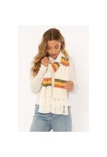 SISSTR Sisstr Bundled Sjaal Wit