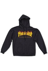 Trasher Thrasher Hoodie Black