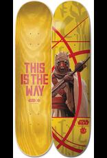 Element Element 7.75  X Star Wars The Mandalorian Tuskan Raider Skateboard Deck