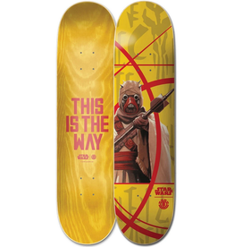Element Element 7.75  X Star Wars The Mandalorian Tuskan Raider Skateboard Deck