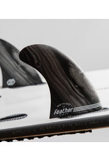 Feather Fins Feather Fins Performance Twin Click Tab FCSII Black