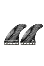Feather Fins Feather Fins Performance Twin Futures Black Grey