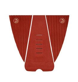 Deflow Deflow 3 Piece Burgundy Traction Pad