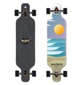 "Madrid Madrid 40"" Trance Drop Through Sol Longboard Complete"