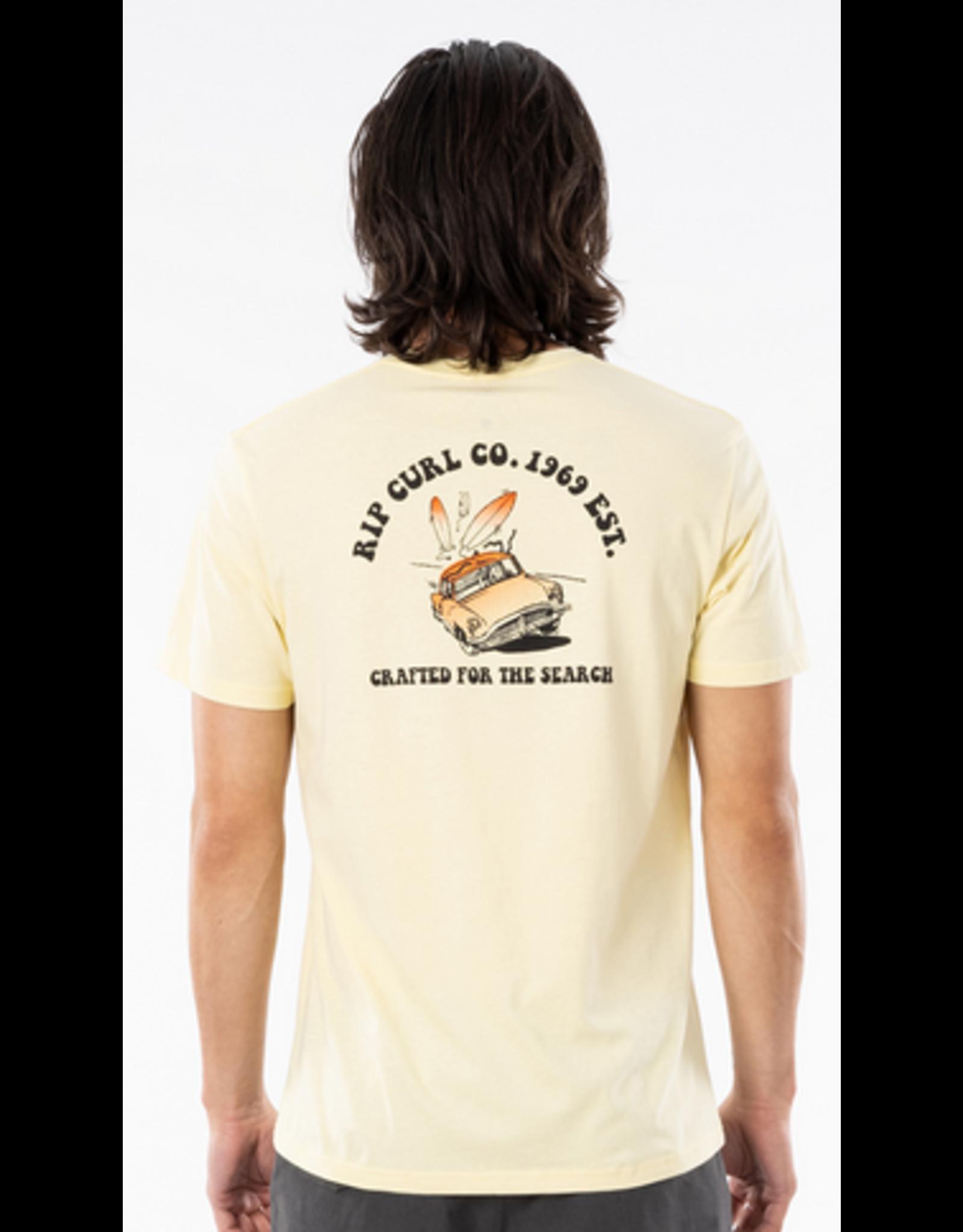 Rip Curl Rip Curl Endless Search T-shirt Pale Yellow