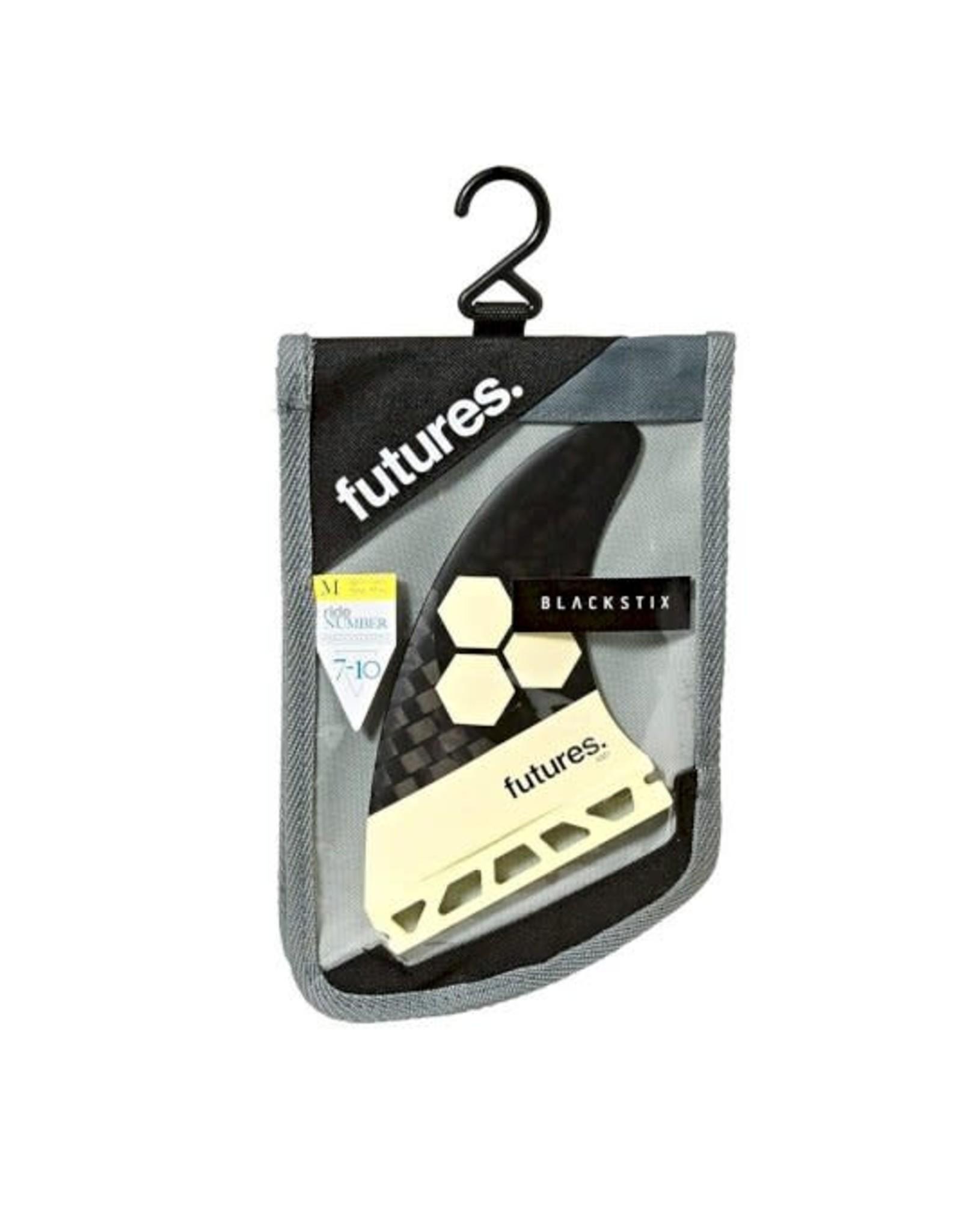 Futures Futures Fins Thruster Set AM1 Al Merrick Blackstix