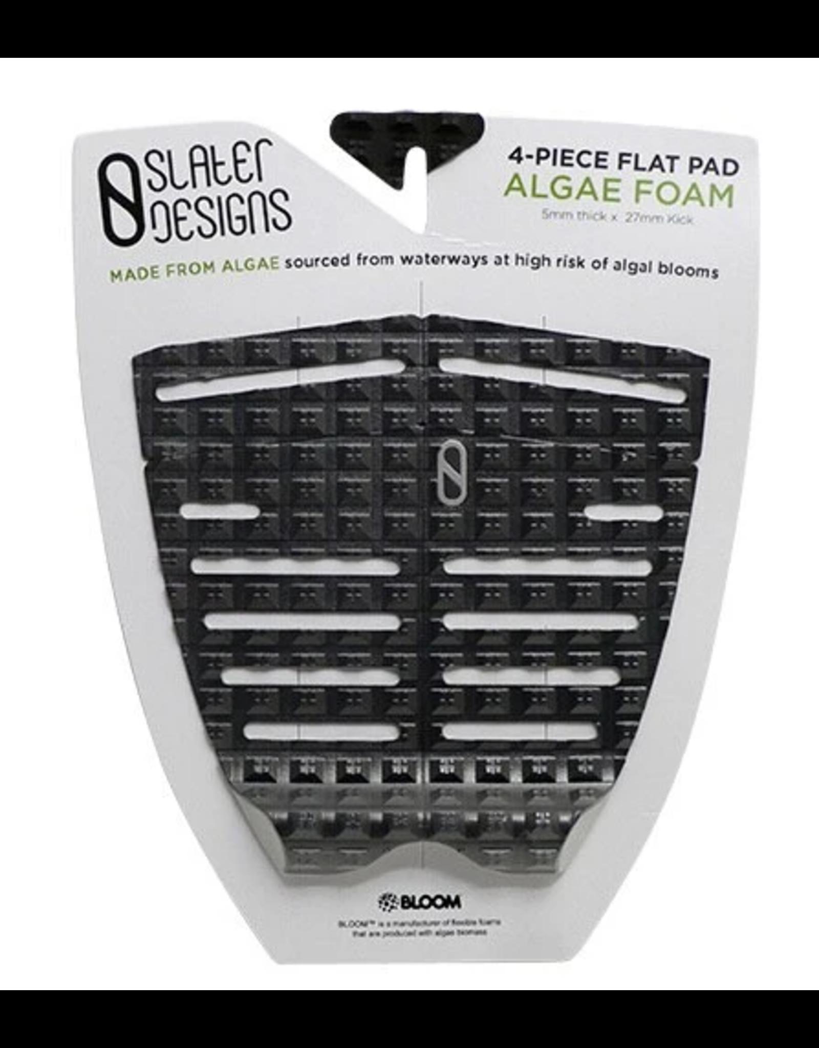 Slater Design Slater 4 Piece Flat Traction Pad Black/Grey